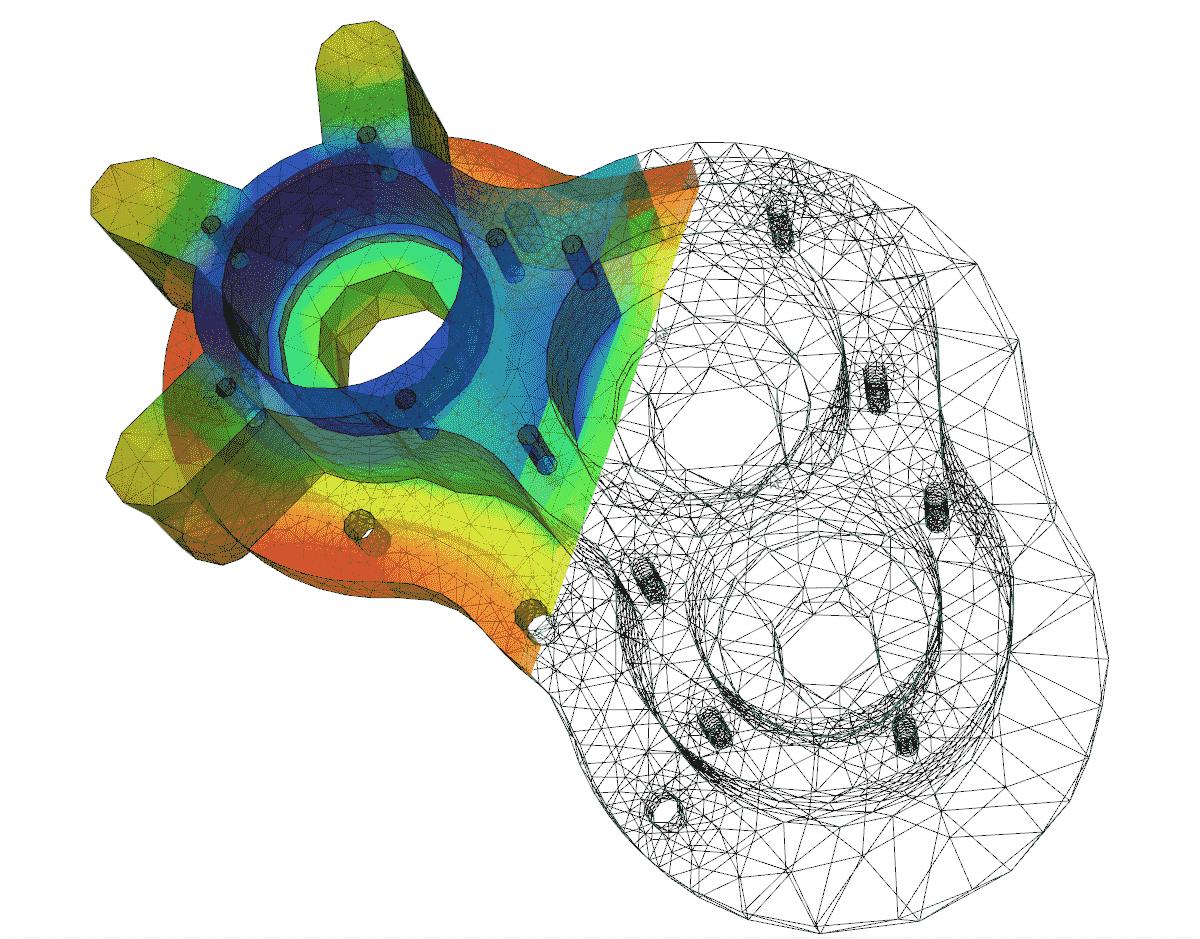 FEM Darstellung Catia V5